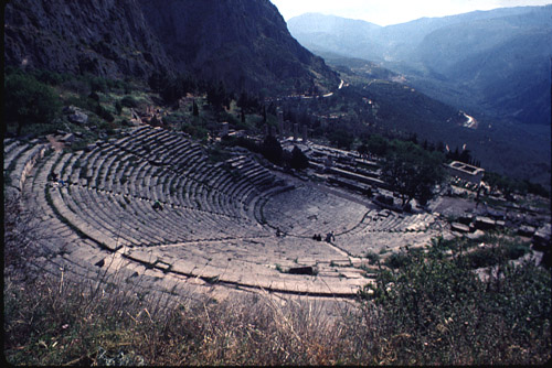 Greek Theater Spaces