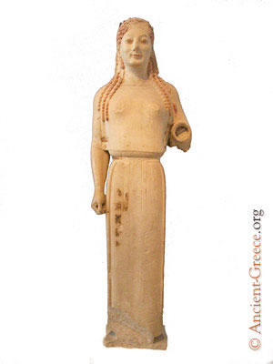peplos kore reconstruction