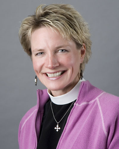 Photo of The Rev. Dr. Catherine Quehl-Engel+ ('89)